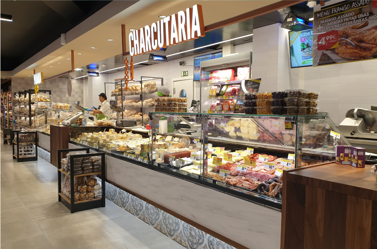 Vitrinas para Charcutaria | Carcuterie serve-over counters